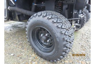 RTV850 HD WORKSITE TIRES STANDARD WHEELS