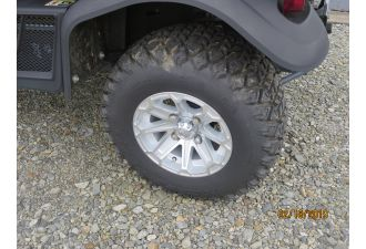 RTVX900 1140 HD Worksite Tires w Alloy Wheels Can exchange to ATV tires on alloy wheels