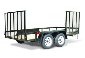 hooper 66x16 2 axle rear and side gate