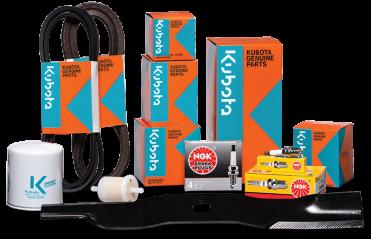 Kubota Parts, Find Batteries, Belts, Filters, Lubricants, Paints