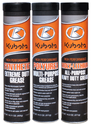 Kubota Lubricant Hydraulic Oil, Grease, Gear, and Engine Oil