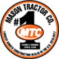 Mason Tractor Co. is the largest Kubota Construction dealer in the U.S. 2016-2017. Mason Tractor is #1 emblem.